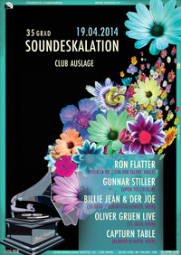 35 Grad Soundeskalation w/Ron Flatter (Stil vor Talent) & Gunnar Stiller (upon.you)