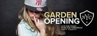NYC Garden Opening