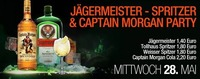 Jägermeister, Spritzer & Captain Morgan Party
