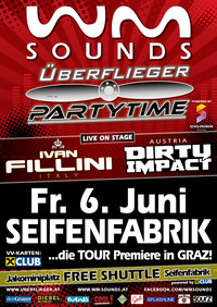 WM-sounds Überflieger Partytime: Ivan Fillini & Dirty Impact