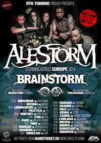 Alestorm + Brainstorm