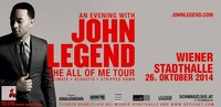 John Legend - All of me Tour 2014