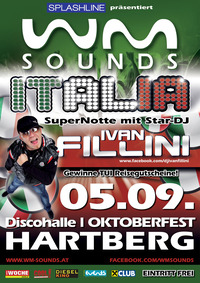 WM-Sounds Italia mit Star-DJ Ivan Fillini