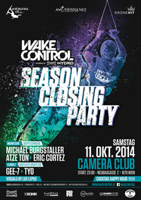 Wake Control Season Closing Party@Camera Club
