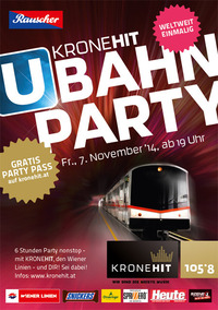 4. Kronehit U-Bahn Party