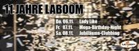 11 Jahre Laboom - Jubiläumswochenende