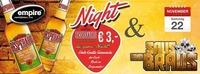 Saus & Braus / Desperados Night