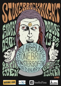 Stoner Rock Night # 20: Stonebride + Monsters of the ordinary + Solar Blaze