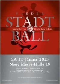 Rieder Stadtball 2015