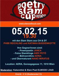 Poetry Slam Cup mit Phibi Reichling und Katinka Buddenkotte