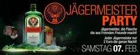 Jägermeisterparty