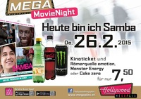 Mega Movie Night - Heute bin ich Samba