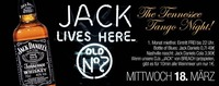 Jack lives here & The Tennessee Tango Night