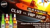 Club vs. Hip Hop