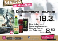 Mega 3D-MovieNight - Die Bestimmung - Insurgent in 3D