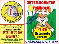 Oster-Sonntag-Tombola