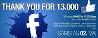 Thank You For 13.000 Likes