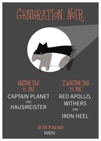 Generation Noir Fest - Tag 1: Captain Planet & Hausmeister