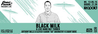 Fear le Funk presents Black Milk & Live Band Nat Turner