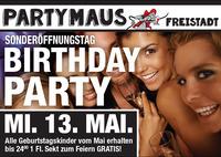 Sonderöffnungstag Birthday Party