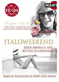 Martini Royale - Lifestyle auf Italienisch zum Pfingst Weekend
