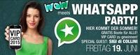 Wow - Whats App Party mit Guest Sigi di Collini