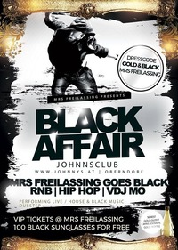The Final Show - Black Affair