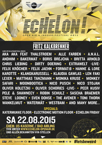 Echelon Open-air & Indoorte Festival 2015