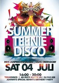 Teenie Disco Sommerabschluss