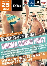 Summer Closing Party