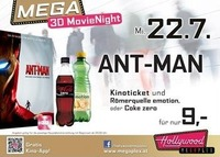 Mega 3D MovieNight: Ant-Man