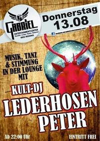 Kult DJ-Lederhosen Peter