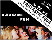 Fantastic Four - Karaoke Fun