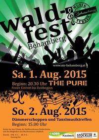 Waldfest Behamberg