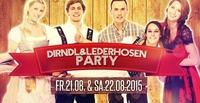 Dirndl & Ledernhosenparty