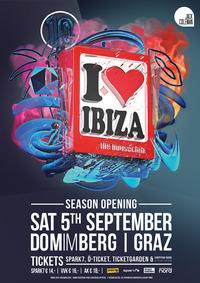 I love Ibiza - season opening