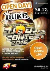 Duke Open Day Dj Contest