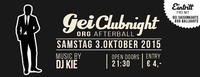 GEI Clubnight & ORG Afterball