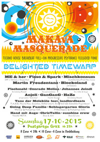 MAKAvA Masquerade   Delighted Timewarp