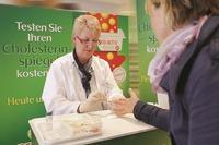 Gesund in den Herbst: Kostenlose Cholesterintests