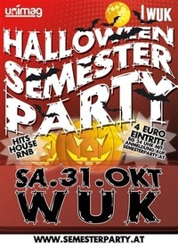 HALLOWEEN SEMESTER PARTY