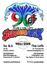90ies Club: SPRINGBREAK!