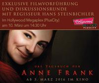 Sondervorstellung mit Regisseur: Das Tagebuch der Anne Frank