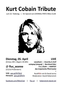 Kurt Cobain Tribute zum 22. Todestag
