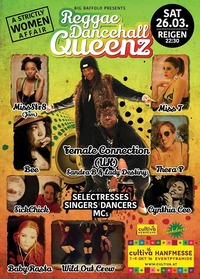 QUEENS OF REGGAE/DANCEHALL a strictly women affair