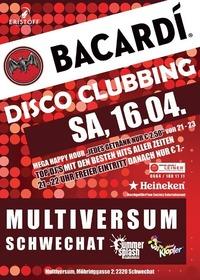 Bacardi Disco Clubbing@Multiversum