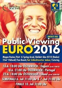 Public Viewing Fußball EM 2016