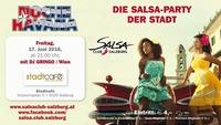NOCHE Havana 17.6.2016 die Salsa Party der Stadt SALSA CLUB Salzburg@Stadtcafe Salzburg