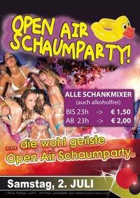OPEN AIR Schaumparty - Colour Edition