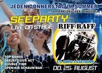 Seeparty mit Riff Raff